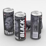 Beverage Can Black Energy 250ml 3d model