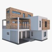 Modernes Haus_02 3d model