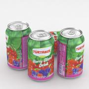 Napój puszka Turtamek Berry Blend Drink 330ml 3d model