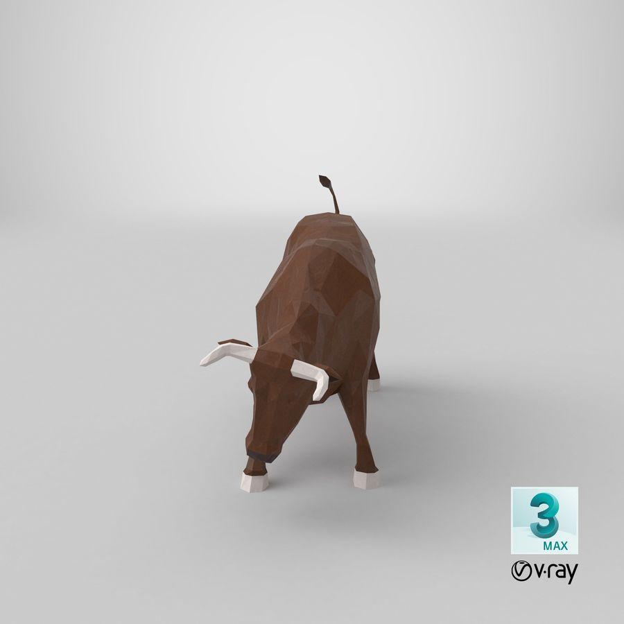 Boğa Kahverengi Şarjı royalty-free 3d model - Preview no. 19