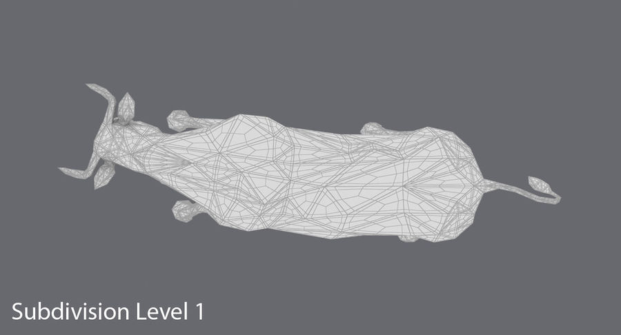 Boğa Kahverengi Şarjı royalty-free 3d model - Preview no. 16
