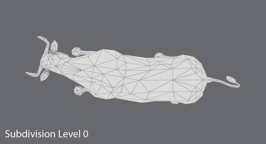 Boğa Kahverengi Şarjı royalty-free 3d model - Preview no. 13