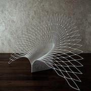 Tavuskuşu sandalye 3d model