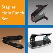 Stapler-Hole Punch Set 3d model