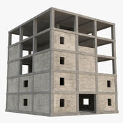 Cantiere 4 (Low Poly) 3d model