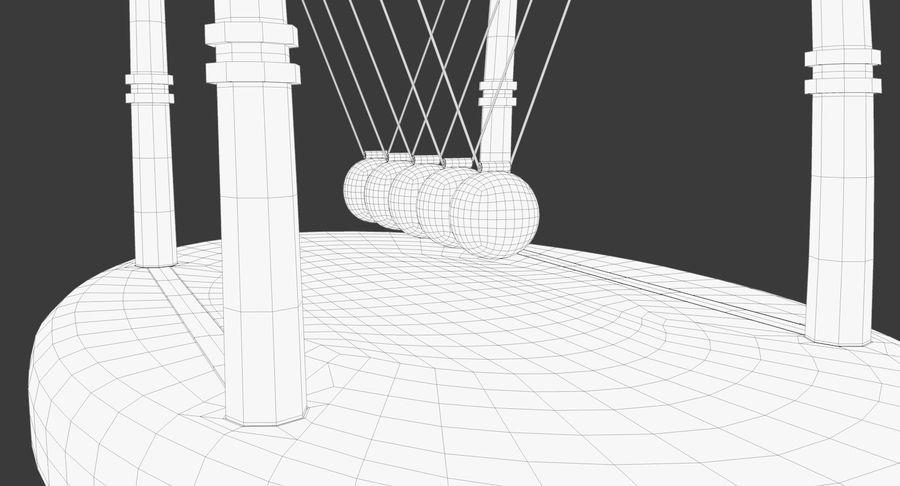 牛顿的摇篮 royalty-free 3d model - Preview no. 18
