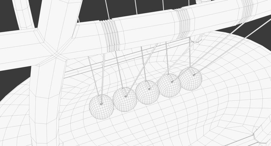 牛顿的摇篮 royalty-free 3d model - Preview no. 20