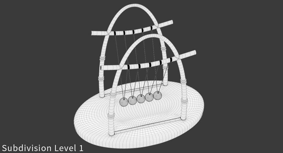 牛顿的摇篮 royalty-free 3d model - Preview no. 17