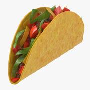 Taco Crunchy 3d model