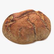 Rundt bröd 3d model