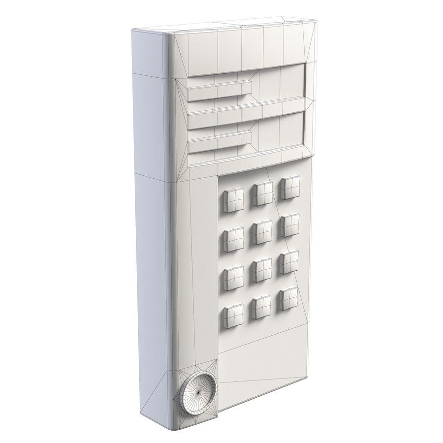 Intercom 1 royalty-free 3d model - Preview no. 2