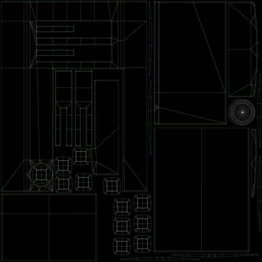 Intercom 1 royalty-free 3d model - Preview no. 6