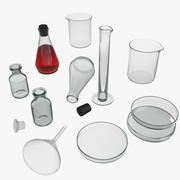 Laboratory equipment 3d model