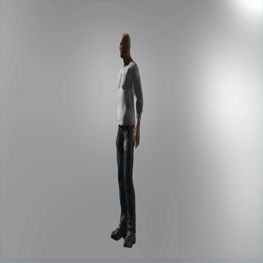 Action Hero royalty-free 3d model - Preview no. 5