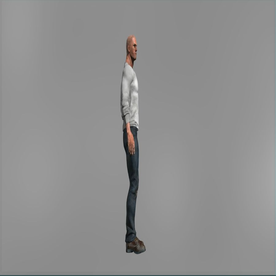 Action Hero royalty-free 3d model - Preview no. 3