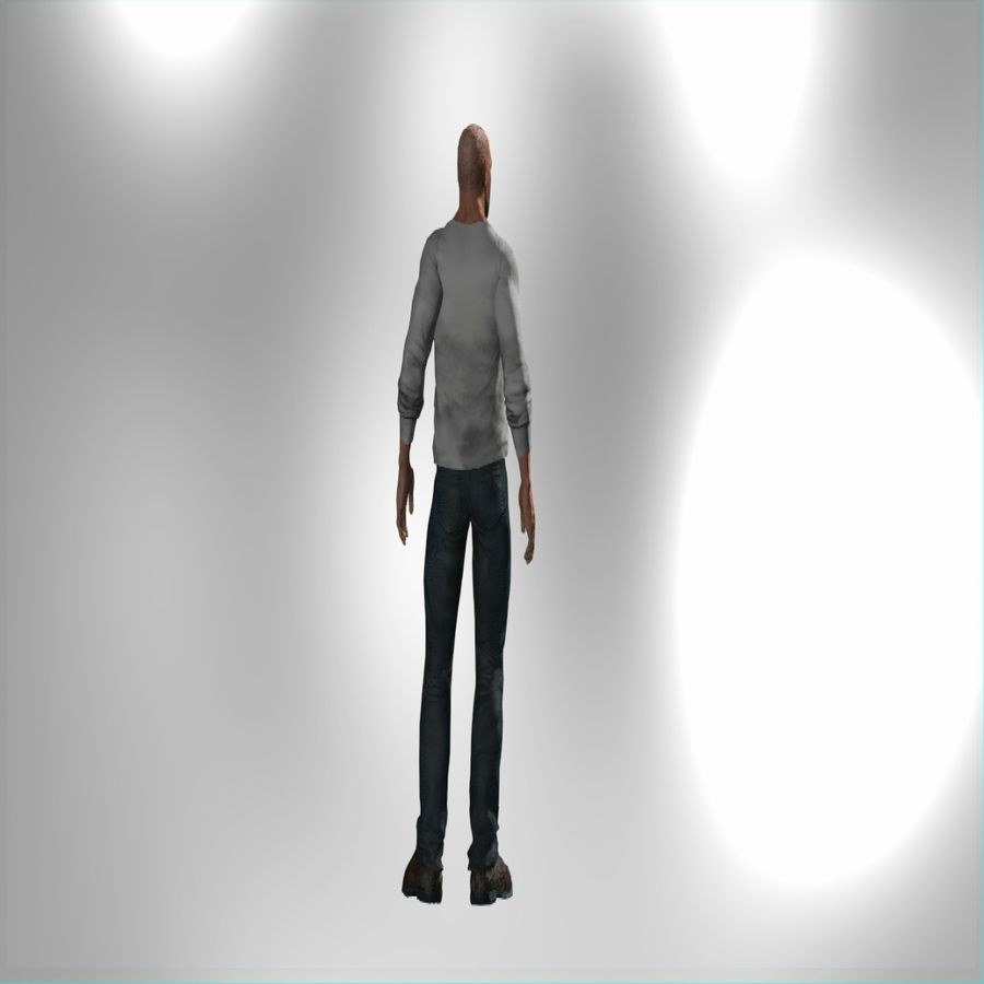 Action Hero royalty-free 3d model - Preview no. 4