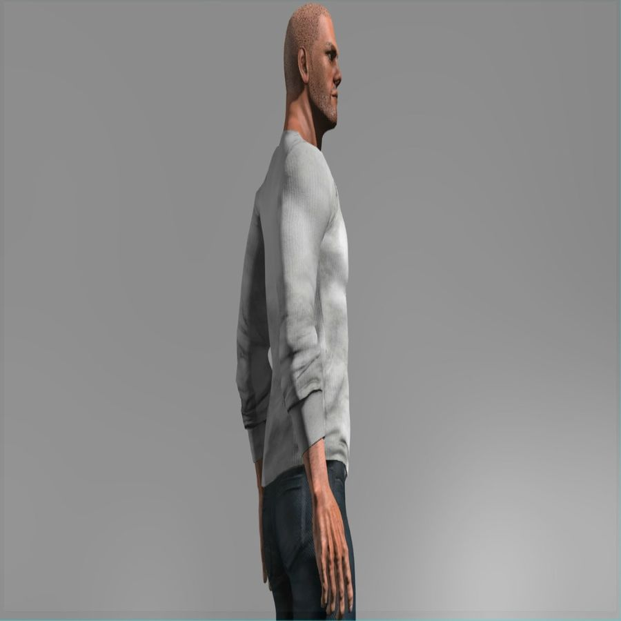 Action Hero royalty-free 3d model - Preview no. 6