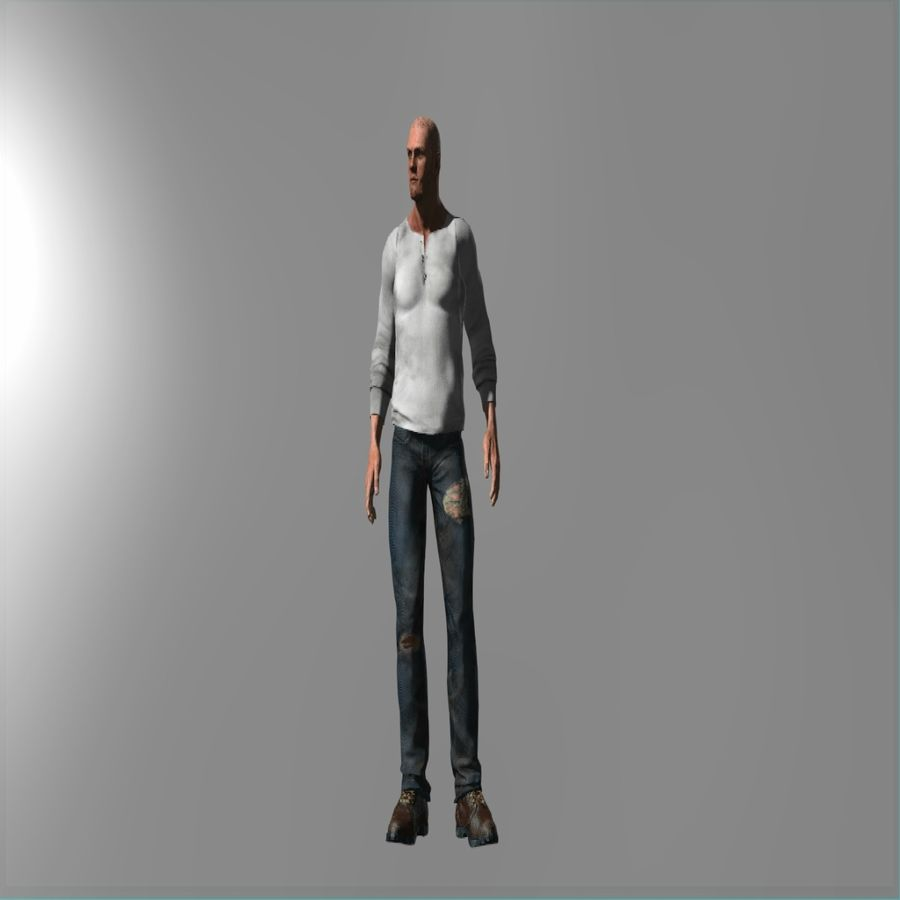 Action Hero royalty-free 3d model - Preview no. 2