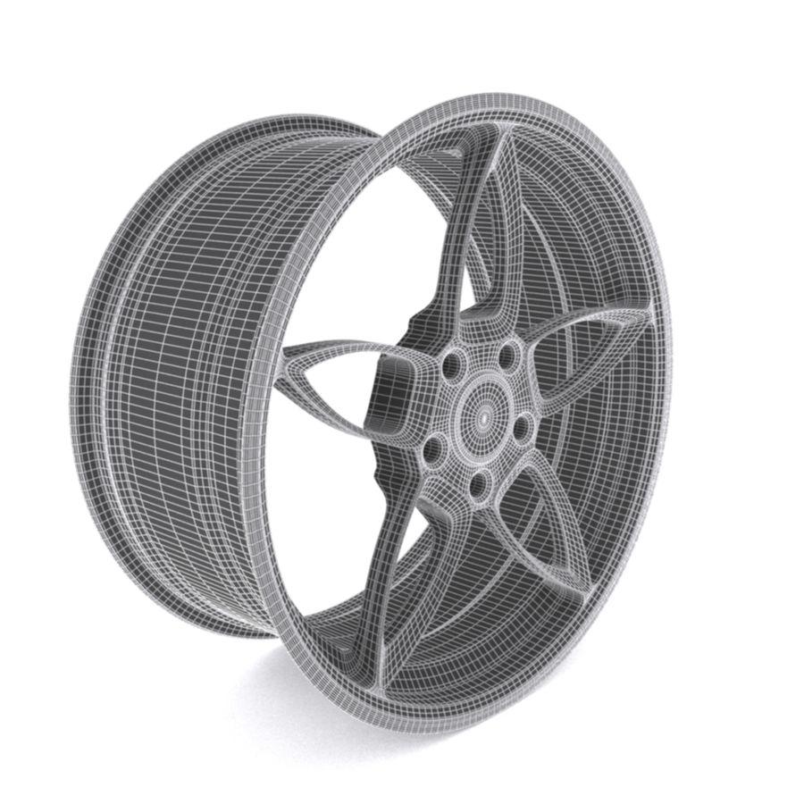 Car wheel PR0005(1) royalty-free 3d model - Preview no. 7