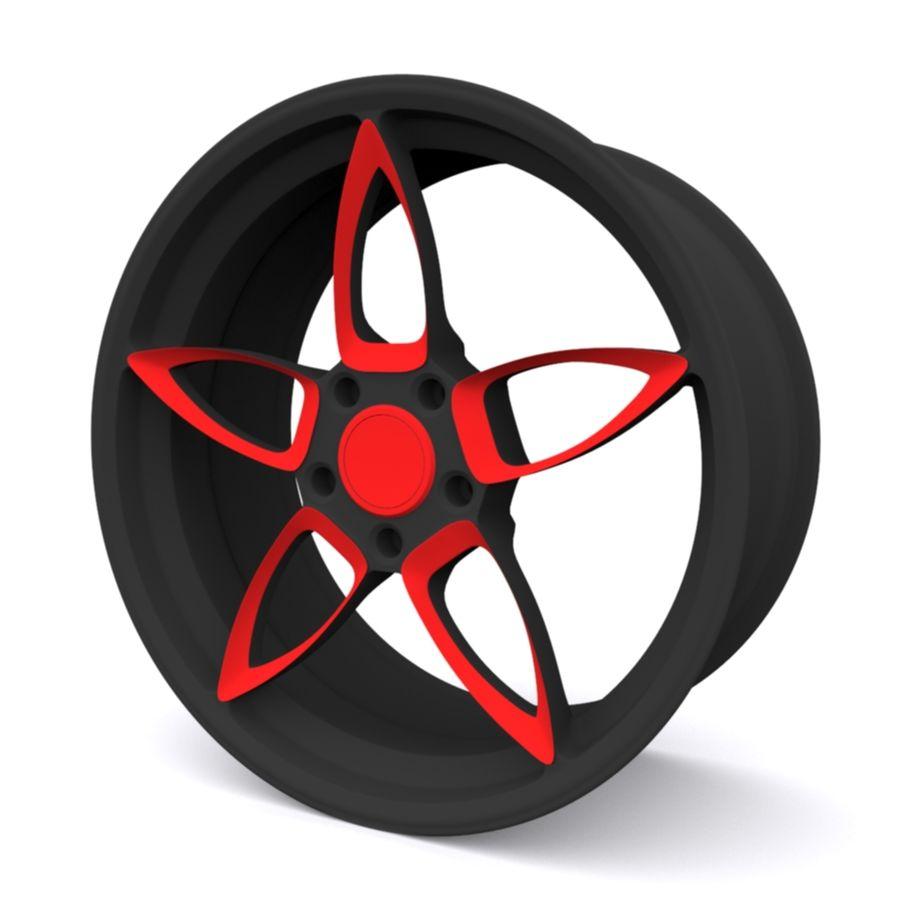 Car wheel PR0005(1) royalty-free 3d model - Preview no. 1