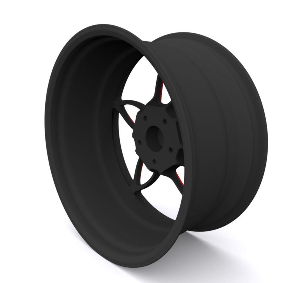 Car wheel PR0005(1) royalty-free 3d model - Preview no. 4