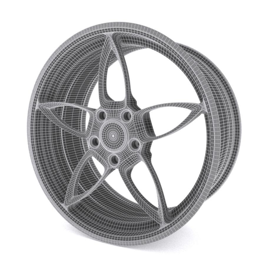 Car wheel PR0005(1) royalty-free 3d model - Preview no. 8