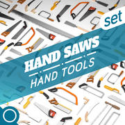 HAND SAWS 3d model