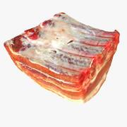 Surowe mięso rzeźników 3d model