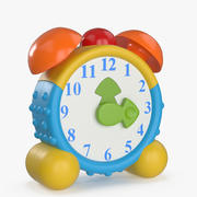 おもちゃの目覚まし時計 3d model