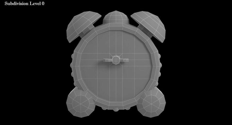 おもちゃの目覚まし時計 royalty-free 3d model - Preview no. 12