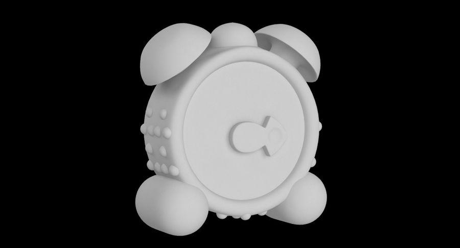 おもちゃの目覚まし時計 royalty-free 3d model - Preview no. 15