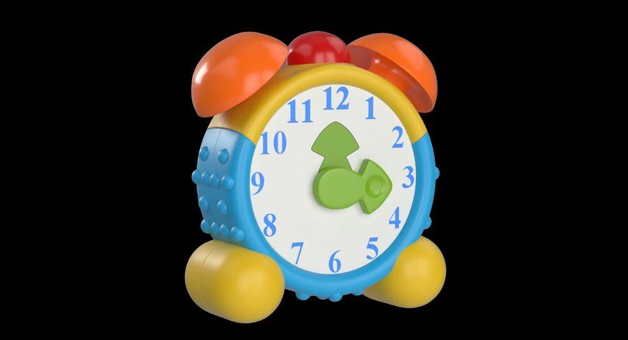 おもちゃの目覚まし時計 royalty-free 3d model - Preview no. 3