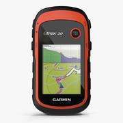 Handheld GPS Navigator Garmin eTrex 3d model