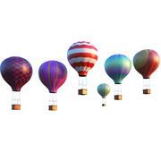 Air Balloons 3d model