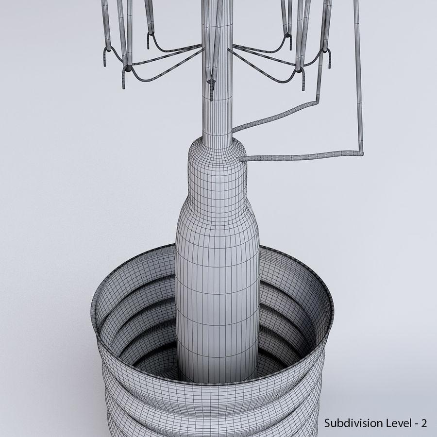 Bombilla Edison royalty-free modelo 3d - Preview no. 12