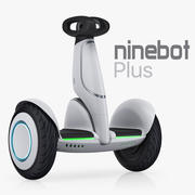 Xiaomi Ninebot Plus 3d model