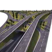 Autoroutes 3d model