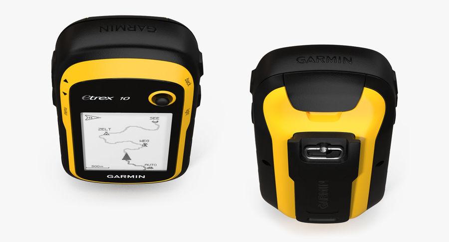 Waterproof Hiking GPS Garmin eTrex royalty-free 3d model - Preview no. 7