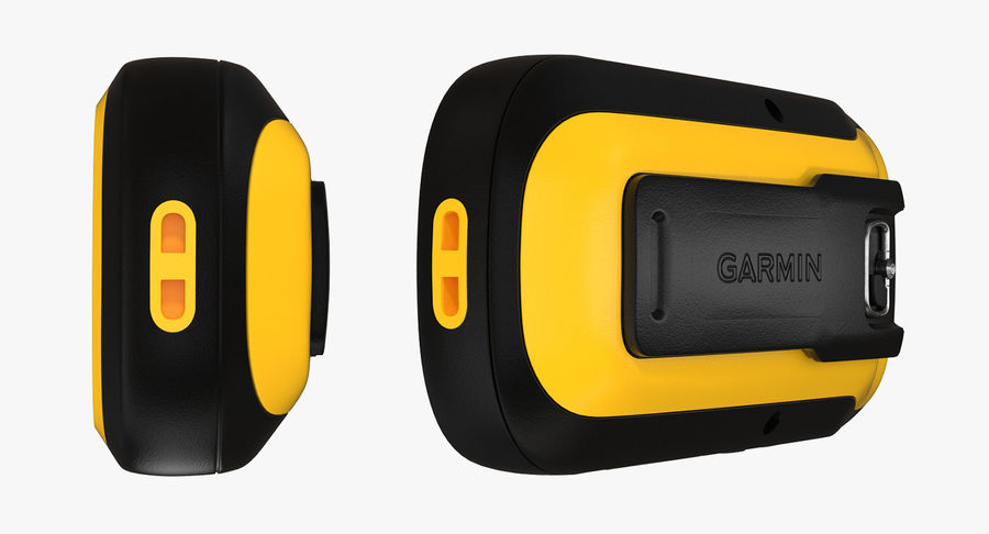 Waterproof Hiking GPS Garmin eTrex royalty-free 3d model - Preview no. 8