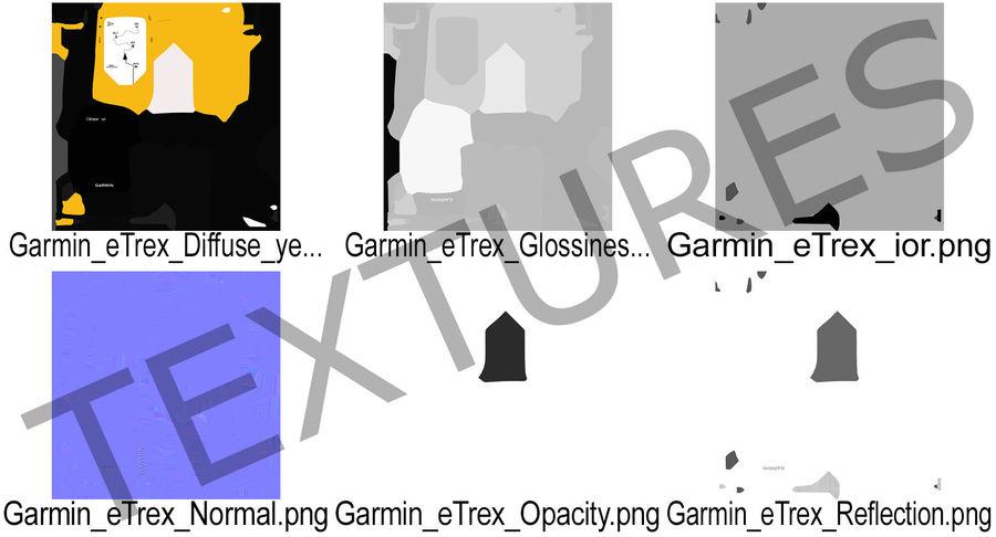 Waterproof Hiking GPS Garmin eTrex royalty-free 3d model - Preview no. 15