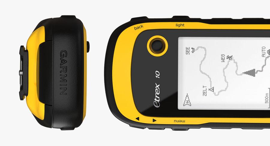Waterproof Hiking GPS Garmin eTrex royalty-free 3d model - Preview no. 10