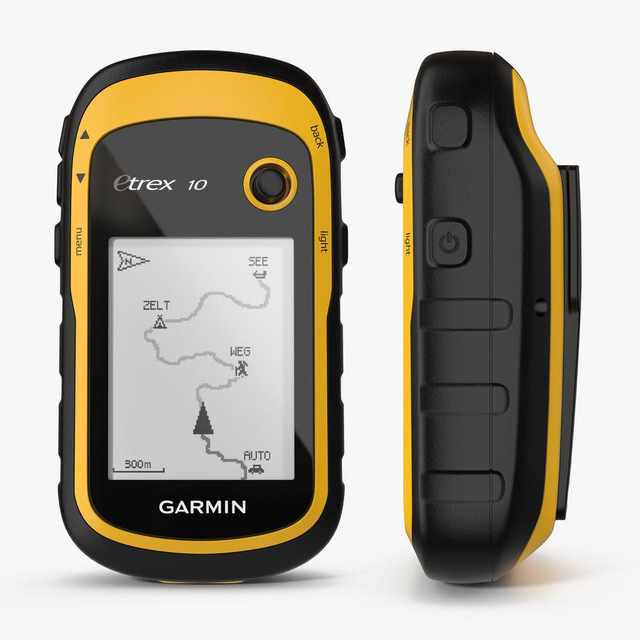Waterproof Hiking GPS Garmin eTrex royalty-free 3d model - Preview no. 1