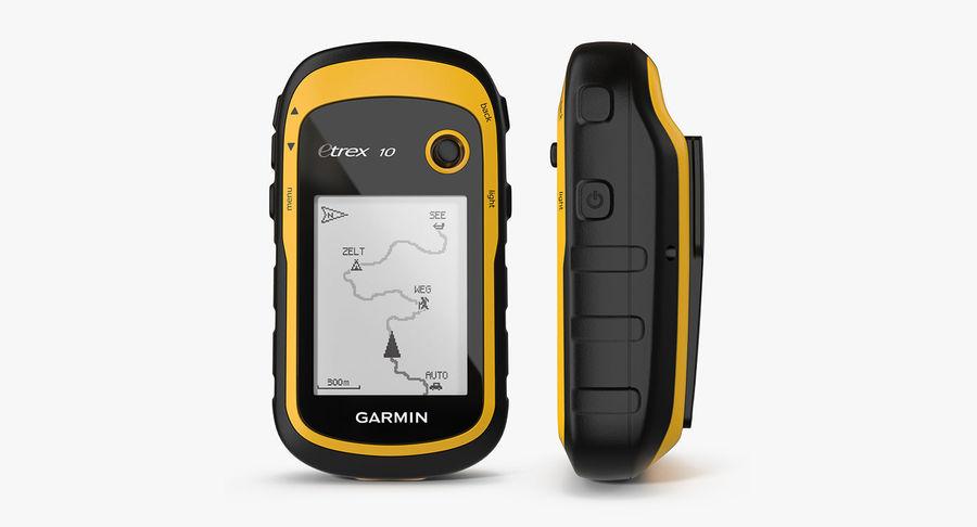 Waterproof Hiking GPS Garmin eTrex royalty-free 3d model - Preview no. 2