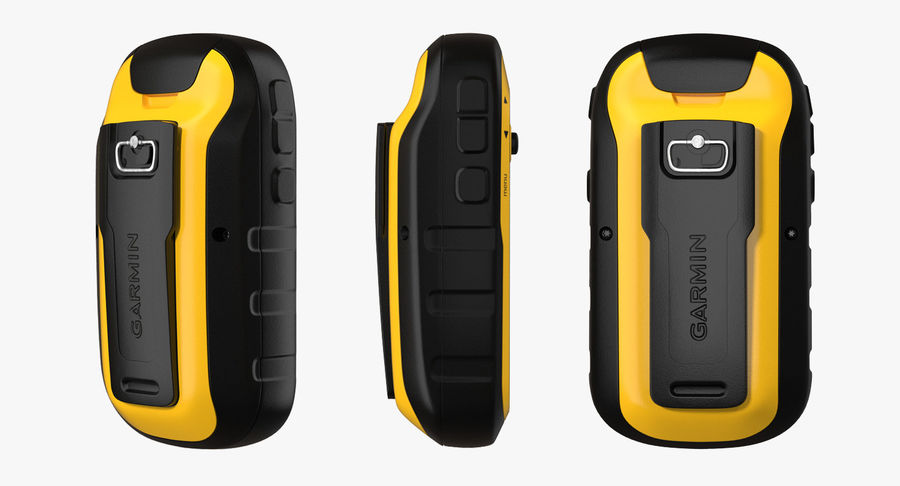 Waterproof Hiking GPS Garmin eTrex royalty-free 3d model - Preview no. 9