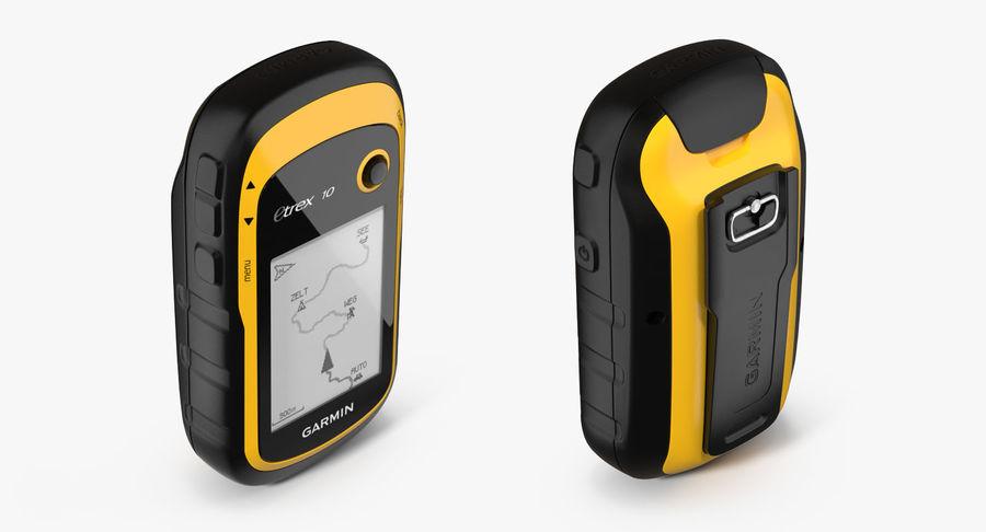 Waterproof Hiking GPS Garmin eTrex royalty-free 3d model - Preview no. 6