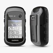 Outdoor GPS Garmin eTrex 3d model