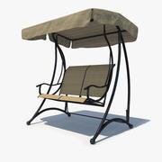 Garden Swing 002 3d model