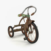 ビンテージ子自転車 3d model