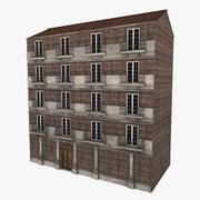 古い建物 3d model