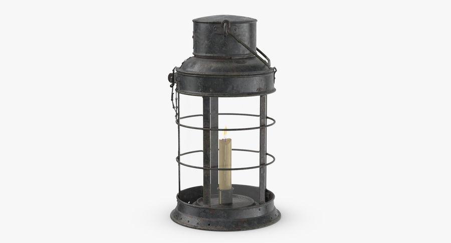 Ship Candle Lantern royalty-free 3d model - Preview no. 4
